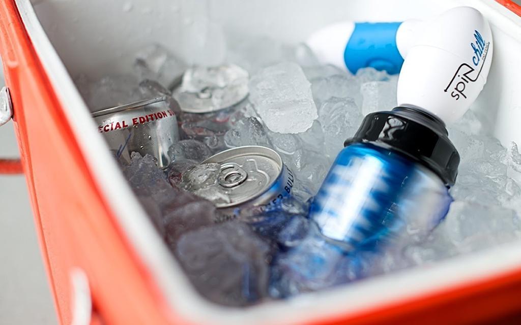 SpinChill: Mit diesem Gadget wird Bier ganz schnell kalt