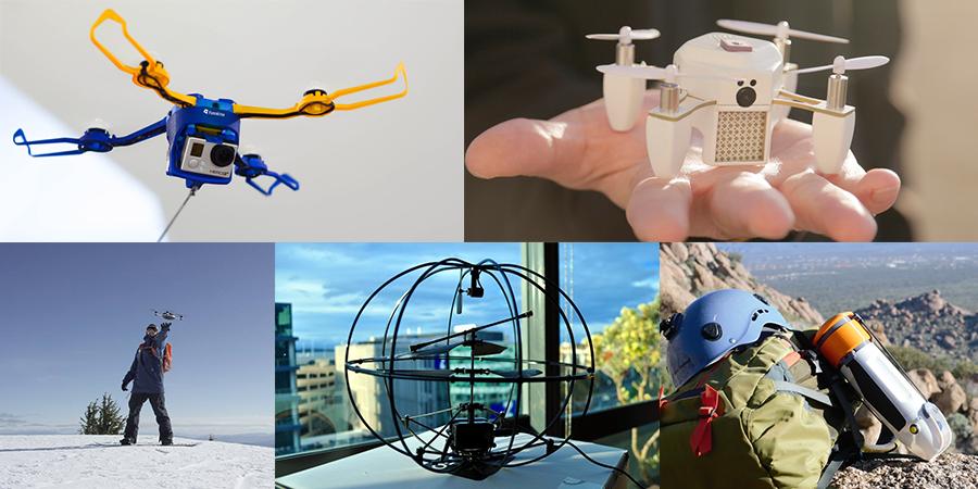5 Gadget-Drohnen mit tollen Features