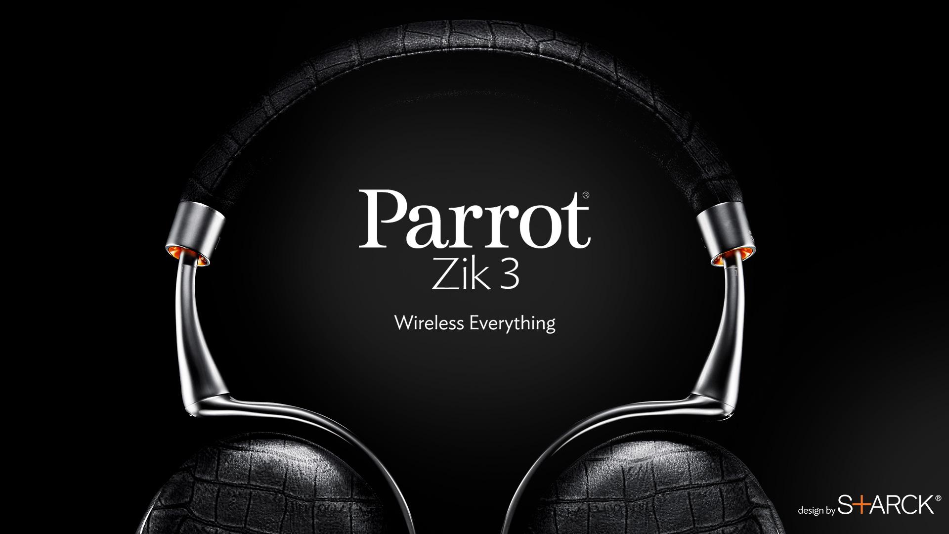 Parrot Zik 3: Kabellose Kopfhörer mit Smart Touch Control