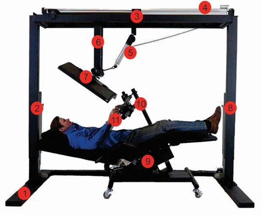 Zero Gravity Workstation: So ergonomisch hast du noch nie gearbeitet!