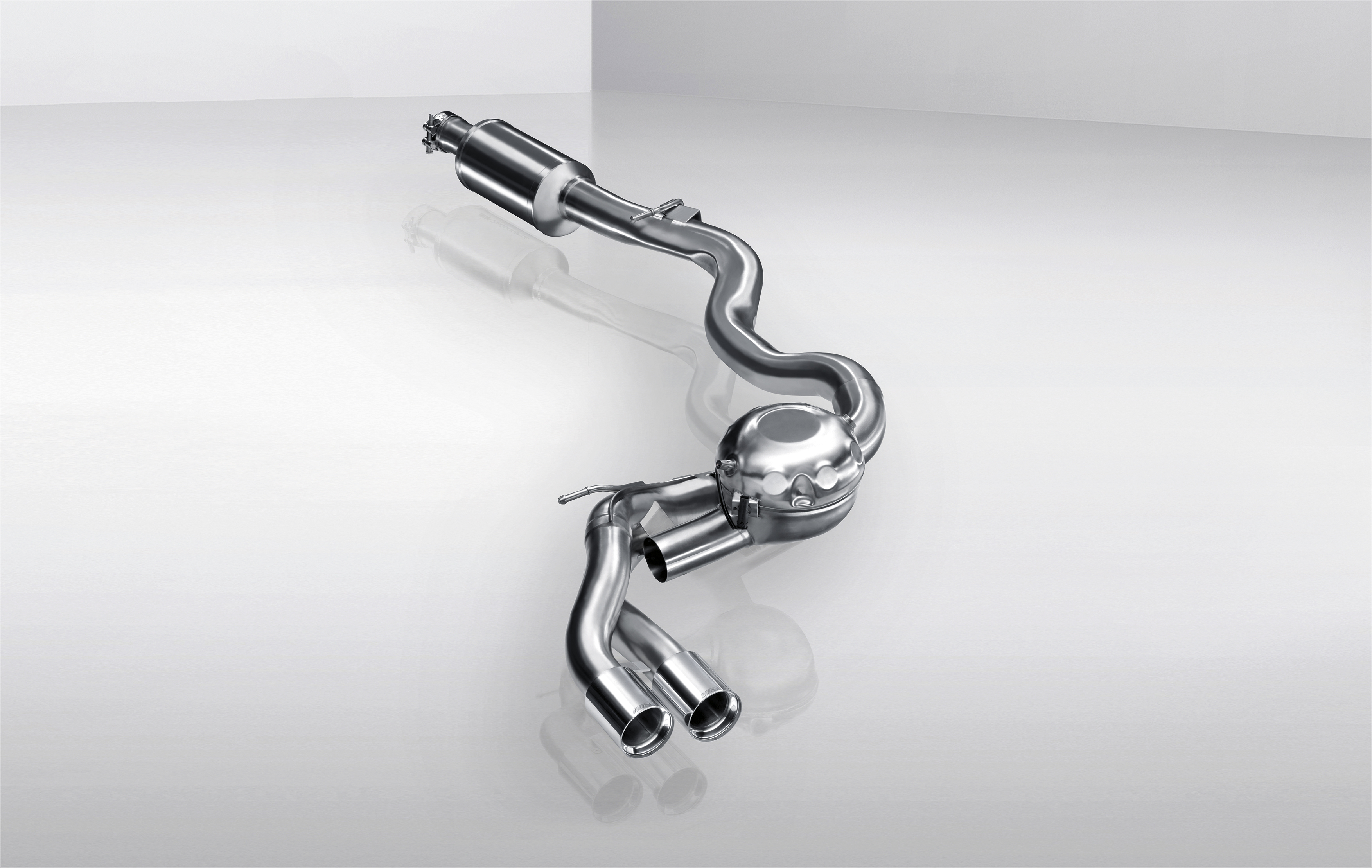 Abgasanlage BMW Active Sound von BMW M Performance. Im Zubehör erhältlich für Diesel-Modelle aus der 2er-, 3er- oder 4er-Reihe.