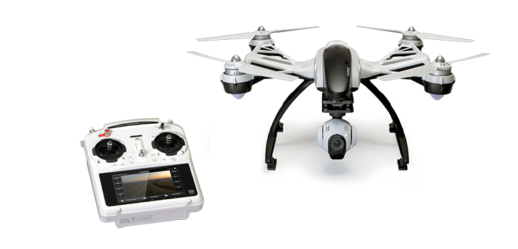 Yuneec Q500 Quadrocopter.