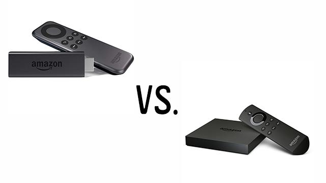 Vergleich: Amazon Fire TV Stick vs. Amazon Fire TV Box