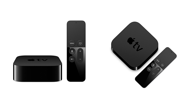 apple tv 4 generation set top box streaming box. Black Bedroom Furniture Sets. Home Design Ideas