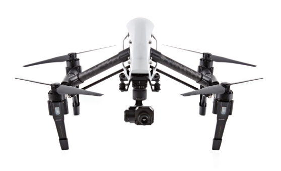 DJI Inspire 1 Quadrocopter mit DJI Zenmuse XT-System.
