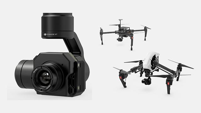 DJI Zenmuse XT: Infrarot- und Wärmebildkamera für DJI Quadrocopter