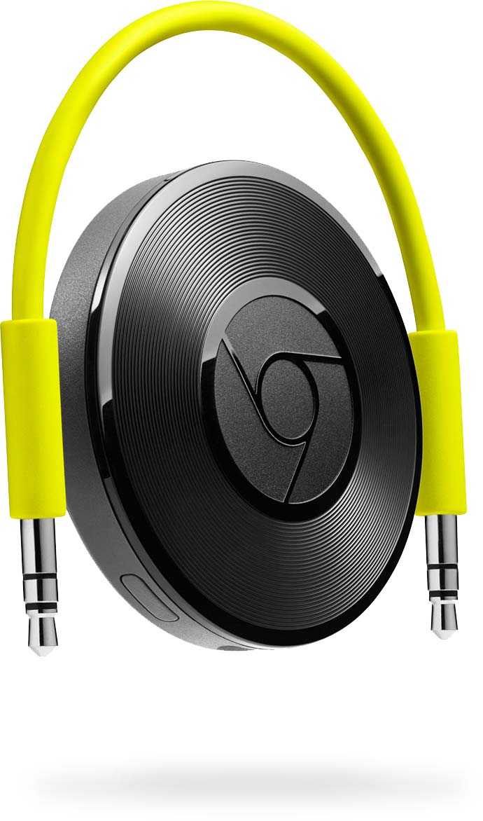 Google Chromecast Audio.