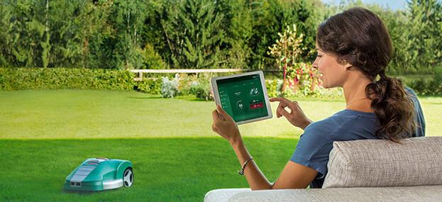 Die Einrichtung des Rasenroboters sowie der App ist einfach und komfortabel.