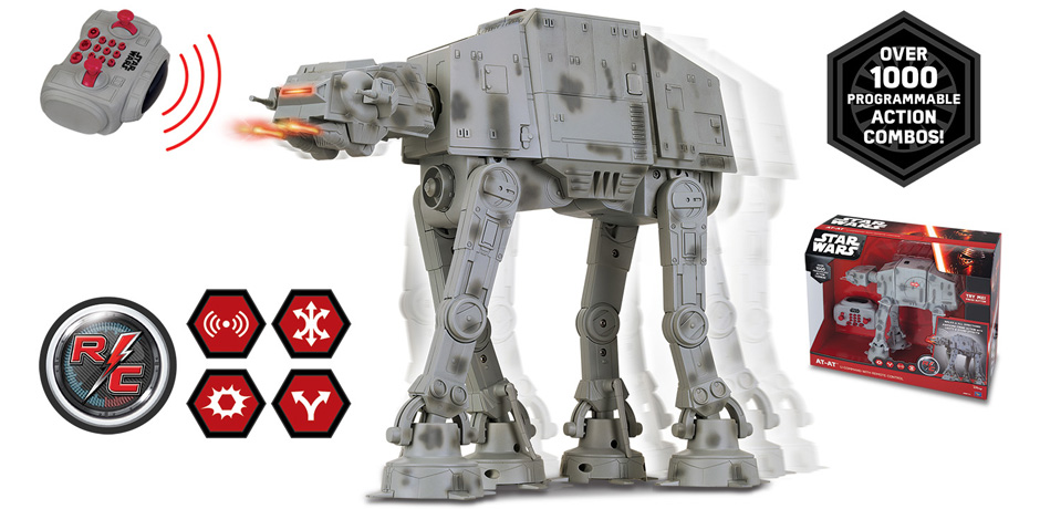 Star Wars AT-AT U-Command with Remote Control (RC).