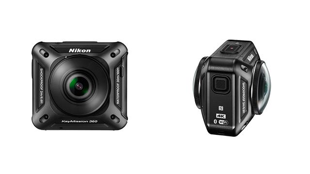 Nikon KeyMission 360: 360-Grad-Videos in 4K-Qualität