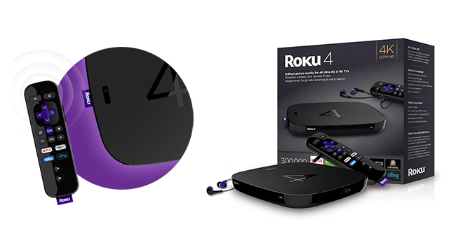 Roku 4 | Set-Top-Box & Streaming-Box