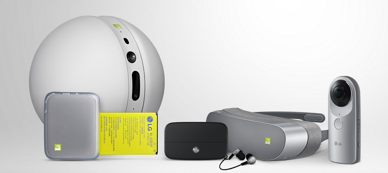 Der LG Rolling Bot – eine runde Sache.