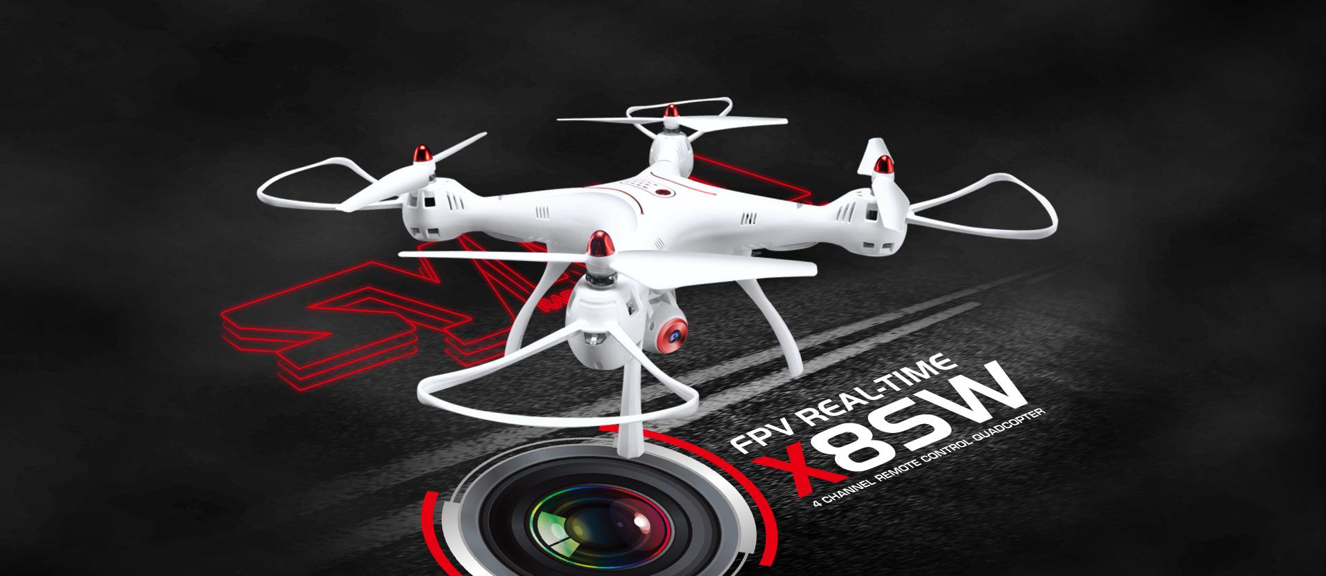 Syma X8SW: Neuer Quadrocopter mit FPV-Übertragung