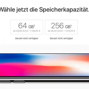 Apple iPhone X vorbestellen: Wann ist das Super-Smartphone erhältlich?