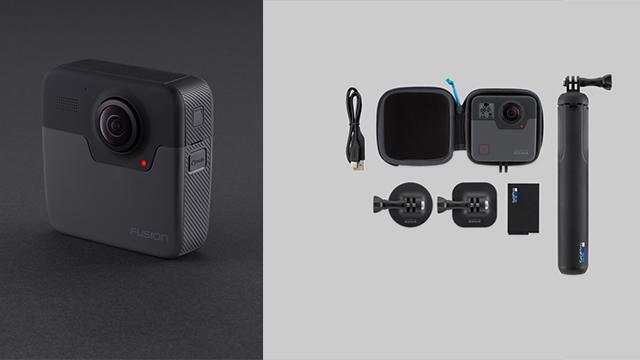 GoPro HERO Fusion: Neue 360-Grad-Kamera vorgestellt