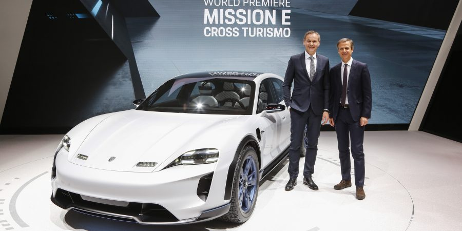 Porsche Mission E Cross Turismo: Weltpremiere in Genf