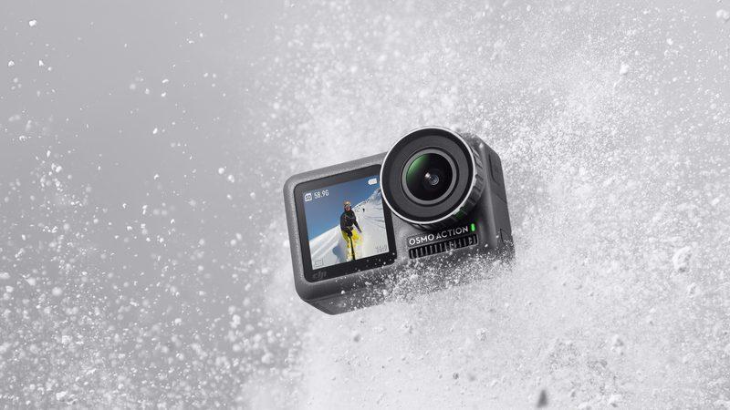 DJI Osmo Action: 4K-Actioncam mit Dual-Display vorgestellt
