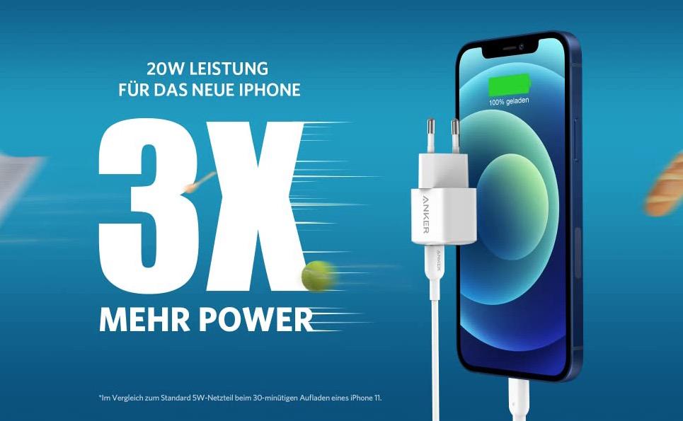 Anker PowerPort III Nano: Ideales Ladegerät für das Apple iPhone 12