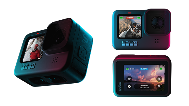 GoPro HERO 9 Black: Action-Kamera mit Dual-Display vorgestellt