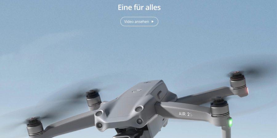 """DJI Air 2S: Neue """"Eine für alles""""-Drohne vorgestellt"""